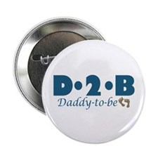 """Daddy to Be 2.25"""" Button"""