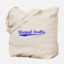 Vintage Grand Forks (Blue) Tote Bag