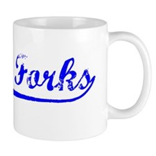 Vintage Grand Forks (Blue) Mug