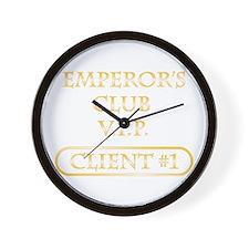Spitzer emperor's club client Wall Clock