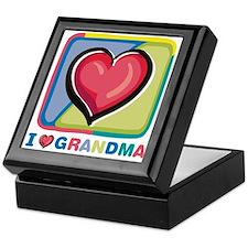 """""""I love Grandma"""" Keepsake Box"""