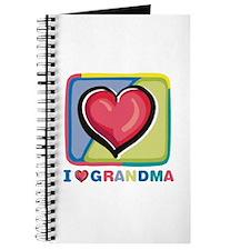 """I love Grandma"" Journal"