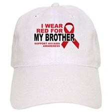 Red For My Brother Baseball Cap