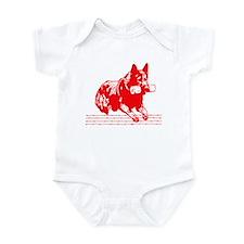 Schutzhund GSD Infant Bodysuit