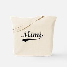 Vintage Mimi (Black) Tote Bag