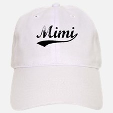 Vintage Mimi (Black) Baseball Baseball Cap