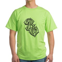 BO BEVELED BY BOOG Green T-Shirt