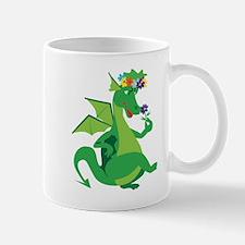Flower Dragon Mug
