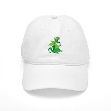 Flower Dragon Baseball Cap