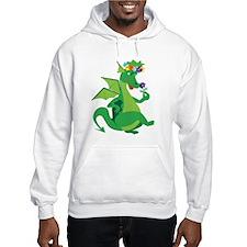Flower Dragon Hoodie