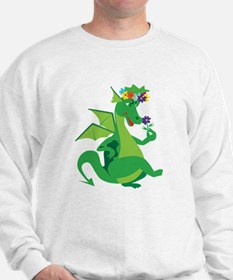 Flower Dragon Sweatshirt
