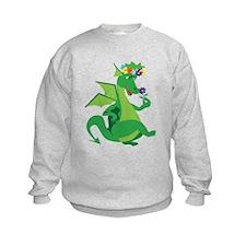 Flower Dragon Sweatshirt