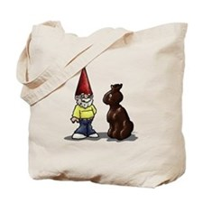 Easter Gnome Tote Bag