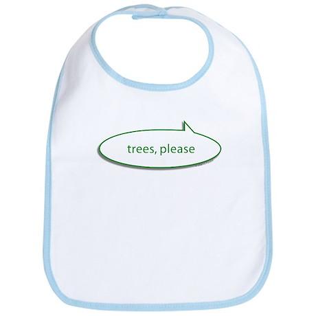 Trees Please Bib