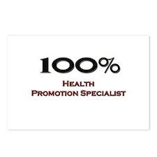 100 Percent Health Promotion Specialist Postcards
