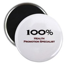 """100 Percent Health Promotion Specialist 2.25"""" Magn"""