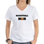 Basketball Mom Women's V-Neck T-Shirt