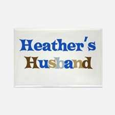 Heather's Husband Rectangle Magnet (10 pack)