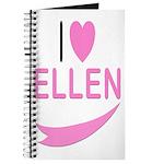 I Love Ellen Journal