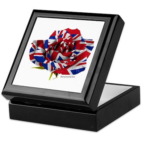 British Rose Keepsake Box