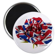 "British Rose 2.25"" Magnet (10 pack)"