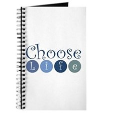 Choose Life (circles) Journal