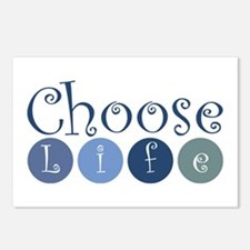 Choose Life (circles) Postcards (Package of 8)