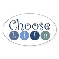 Choose Life (circles) Decal