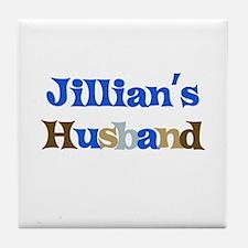Jillian's Husband Tile Coaster