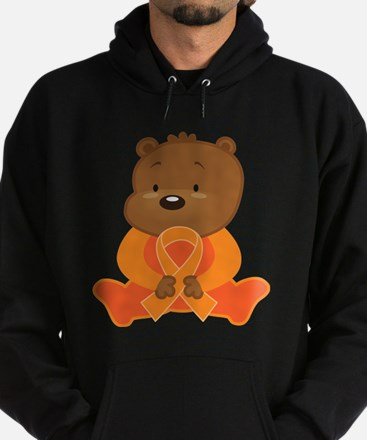Orange Awareness Bear Sweatshirt