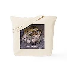 Spooning Frogs Tote Bag