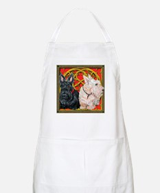 Scottish Terriers Wheaten Cel BBQ Apron