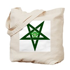 PAGAN STAR GREENMAN Tote Bag