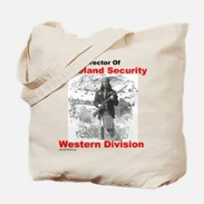 Into The West, with Geronimo Tote Bag