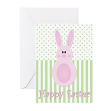 Easter Egg Bunny Greeting Cards (Pk of 20)