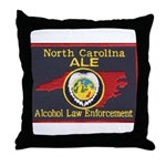 N.C. A.L.E. Throw Pillow