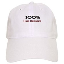 100 Percent Hair Dresser Baseball Cap