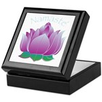Namaste and Lotus Keepsake Box