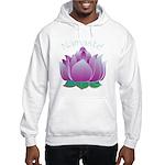 Namaste and Lotus Hooded Sweatshirt