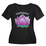 Namaste and Lotus Women's Plus Size Scoop Neck Dar