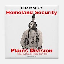 Sitting Bull Director Of Homeland Security Tile Co