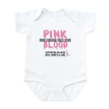 Pink Blood 1 (Mom) Infant Bodysuit