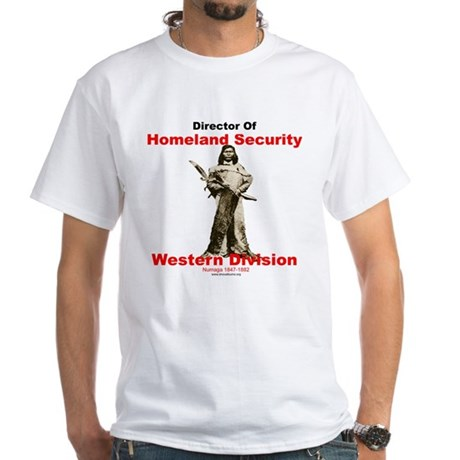 Numaga Director of Homeland Security White T-Shirt