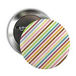 "UltraMod Retro Striped 2.25"" Button (100 pack)"