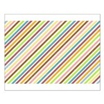 UltraMod Retro Striped Small Poster