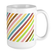 UltraMod Retro Striped Mug(15 oz)