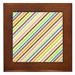 UltraMod Retro Striped Framed Tile