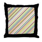 UltraMod Retro Striped Throw Pillow
