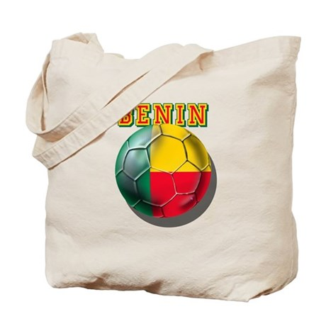 Benin Football Tote Bag