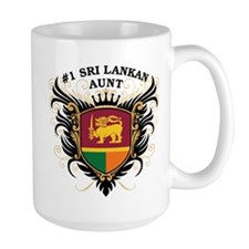 Number One Sri Lankan Aunt Mug
